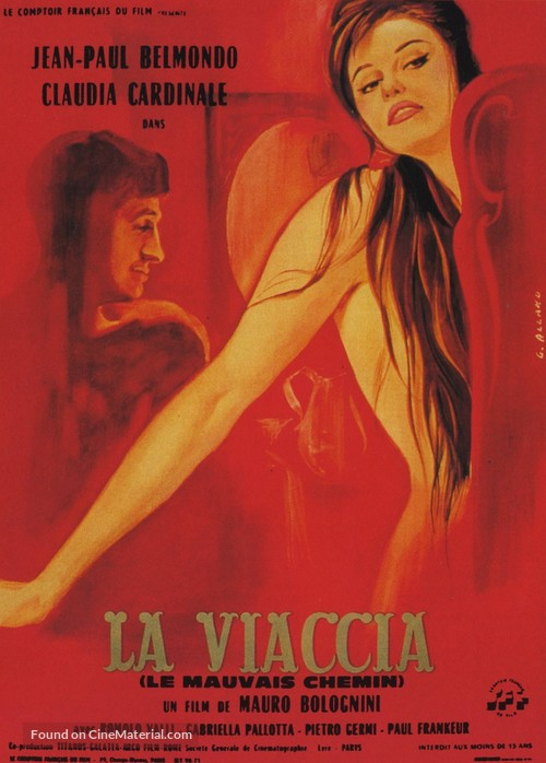 La viaccia - French Movie Poster
