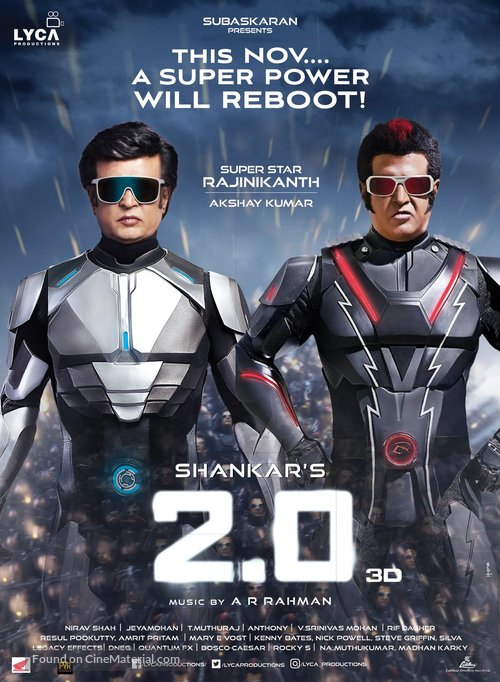 2.0 - Indian Movie Poster
