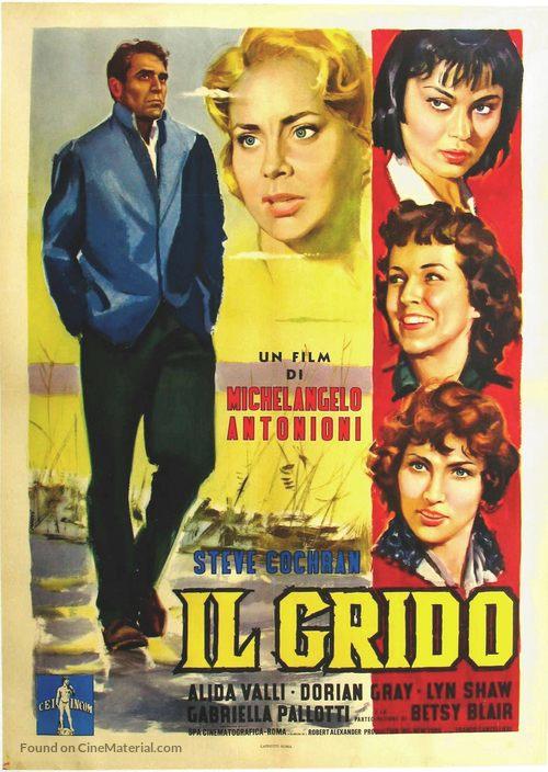 Il Grido - Italian Movie Poster