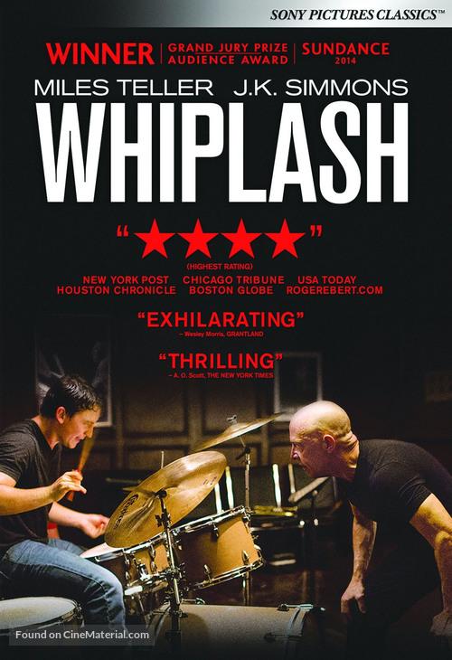 Whiplash - DVD movie cover