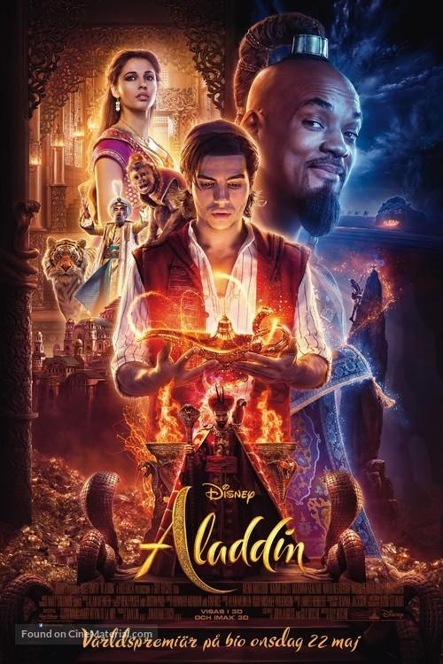 Aladdin - Swedish Movie Poster