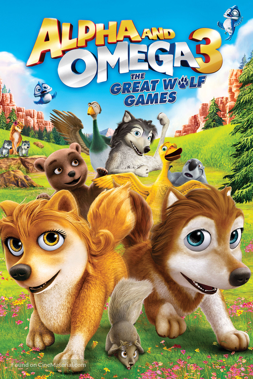 Alpha and Omega 3: The Great Wolf Games - DVD movie cover