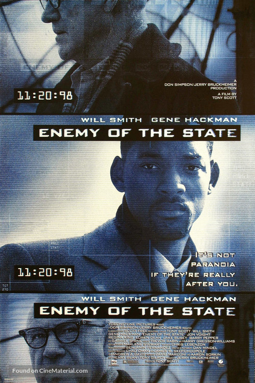 Enemy Of The State - Movie Poster