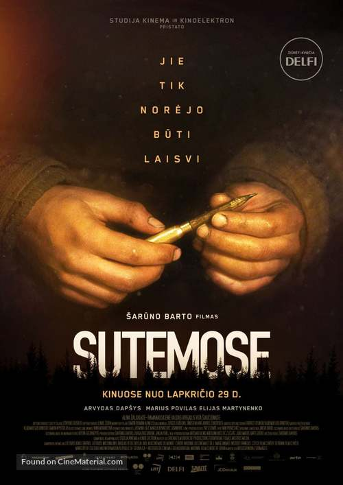 Au Crépuscule (Dusk) - Lithuanian Movie Poster