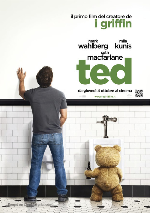 Ted - Italian Movie Poster