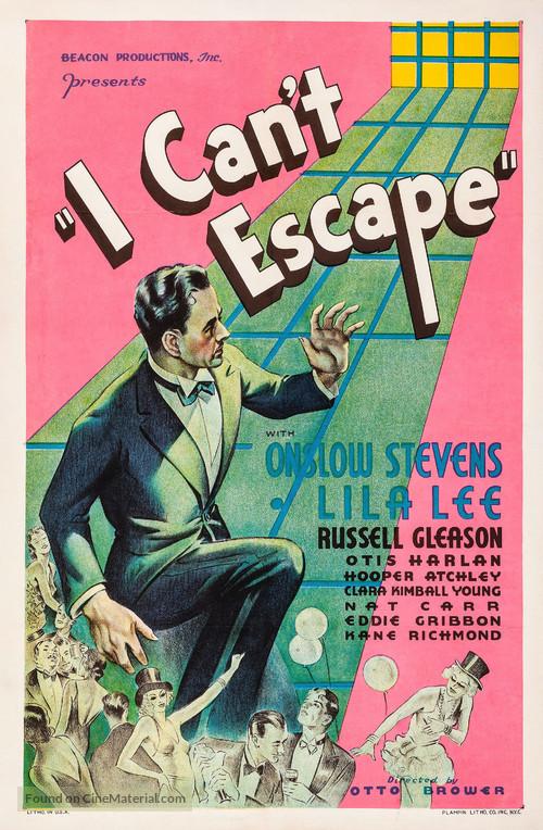 I Can't Escape - Movie Poster