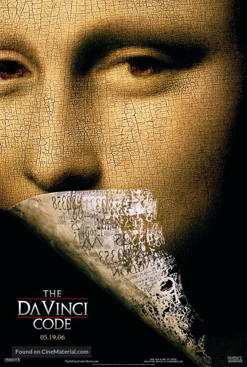 The Da Vinci Code - Movie Poster