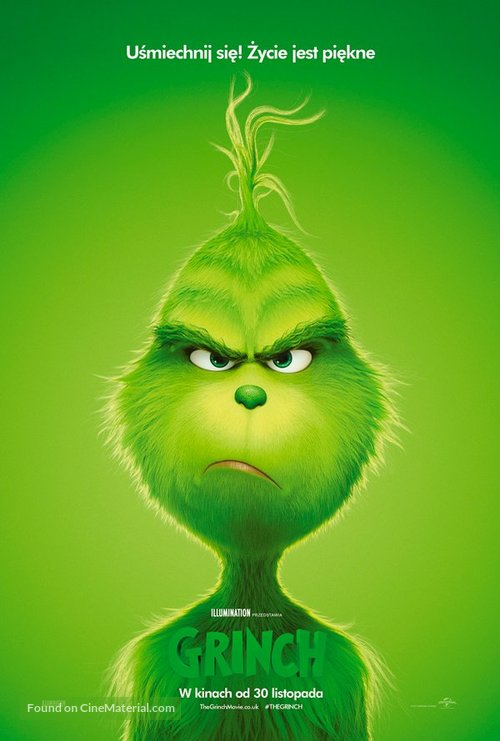 The Grinch - Polish Movie Poster