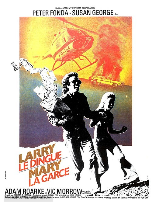 Dirty Mary Crazy Larry - French Movie Poster