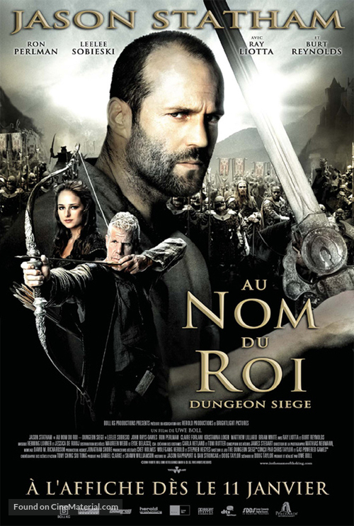 In the Name of the King - Canadian Movie Poster