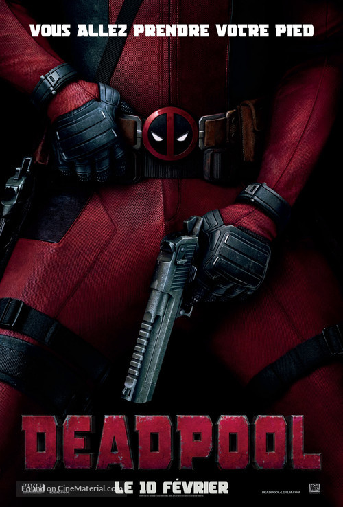 Deadpool - French Movie Poster