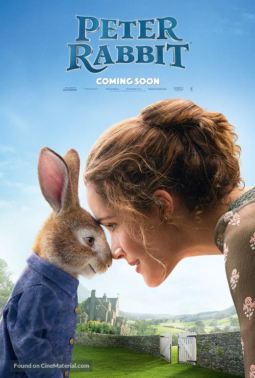 Peter Rabbit 2018 International Movie Poster