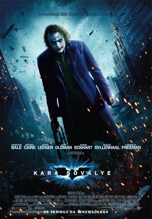 The Dark Knight - Turkish Movie Poster