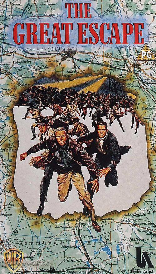 The Great Escape - British Movie Cover