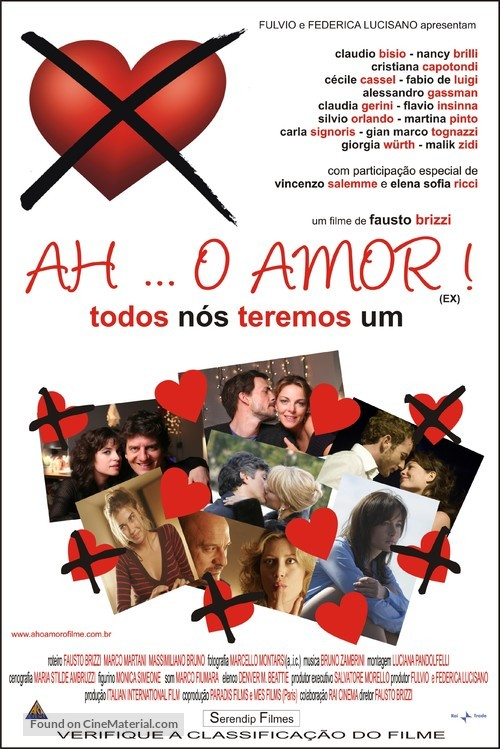 Ex - Brazilian Movie Poster