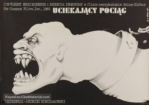 Runaway Train - Polish Movie Poster