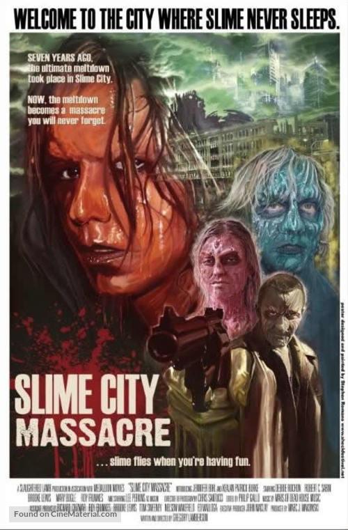 Slime City Massacre - Movie Poster
