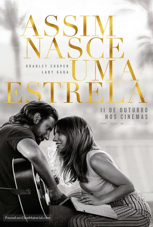 A Star Is Born - Portuguese Movie Poster