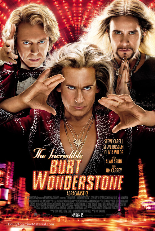 The Incredible Burt Wonderstone - Movie Poster