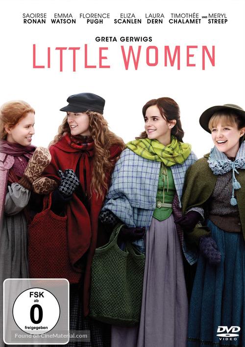 Little Women - German DVD movie cover