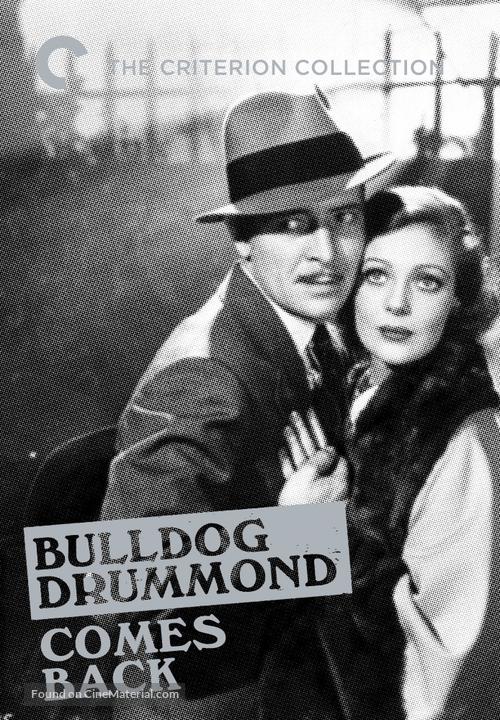 Bulldog Drummond Comes Back - DVD cover