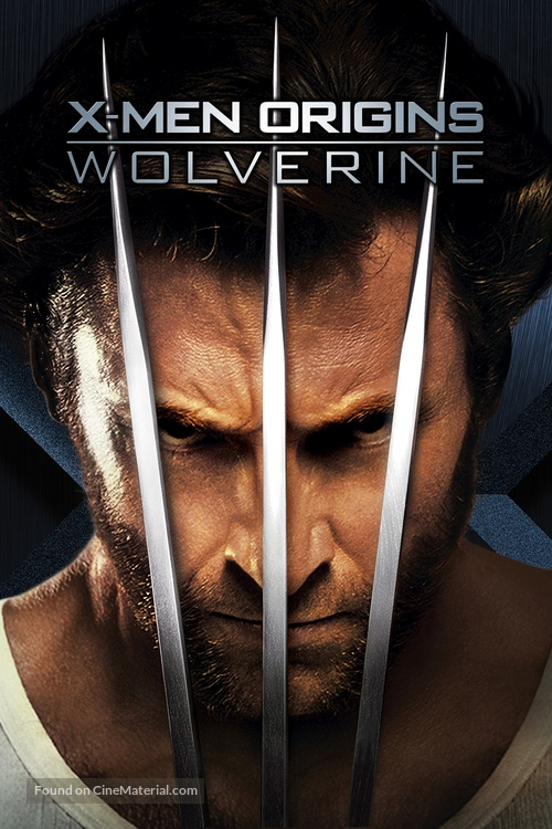 X-Men Origins: Wolverine - Movie Cover