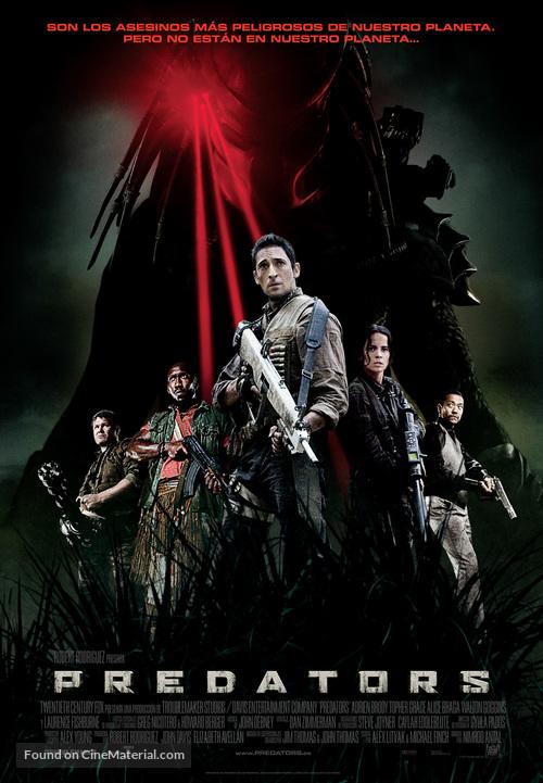 Predators - Spanish Movie Poster