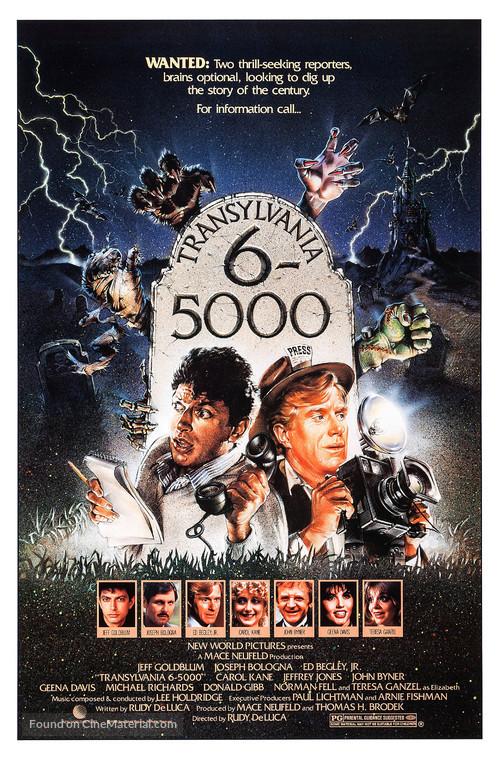 Transylvania 6-5000 - Movie Poster