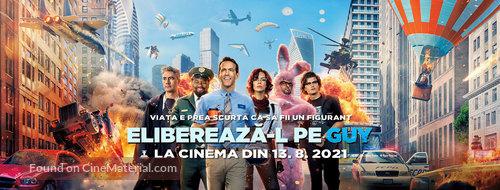 Free Guy - Romanian Movie Poster