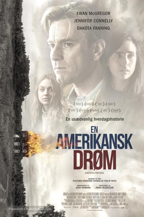 American Pastoral - Danish Movie Poster