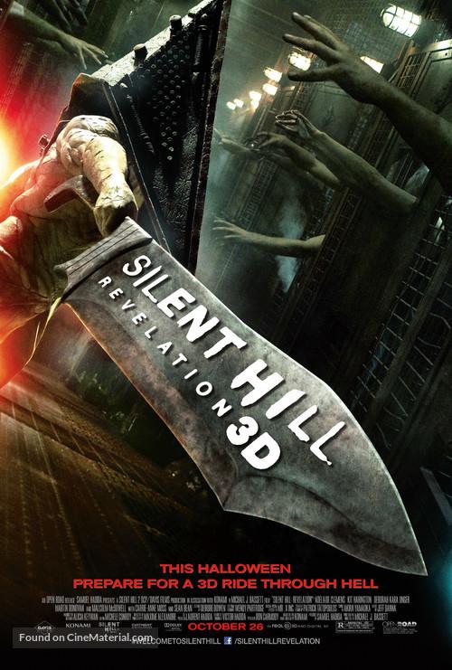 Silent Hill: Revelation 3D - Movie Poster