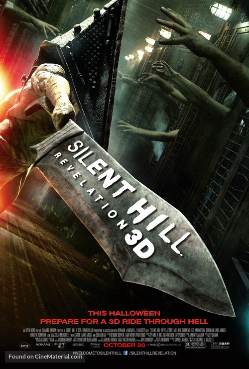 Silent Hill: Revelation 3D - Movie Poster