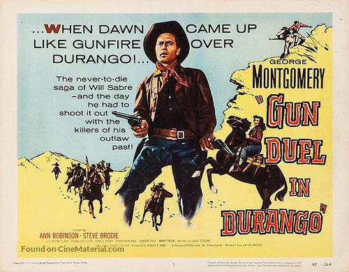Gun Duel in Durango - Movie Poster