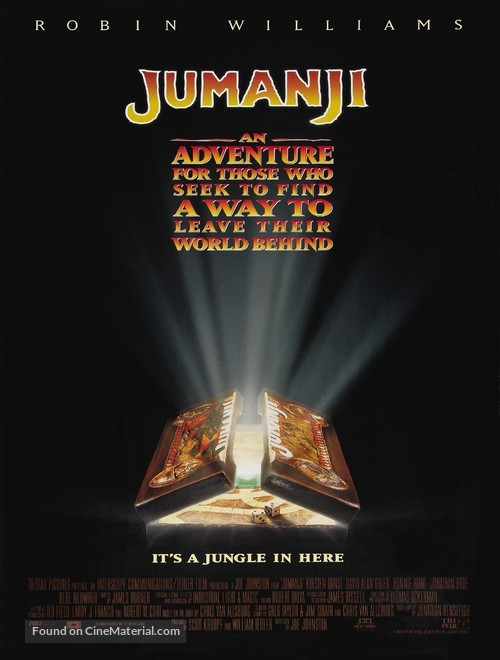 Jumanji - Movie Poster