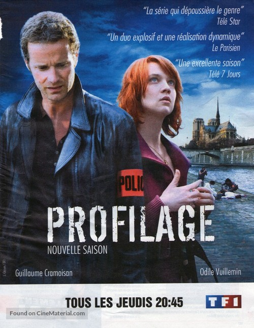 """Profilage"" - French Movie Poster"