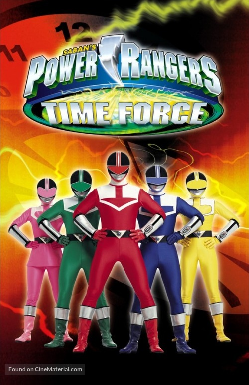 """""""Power Rangers Time Force"""" - Movie Cover"""