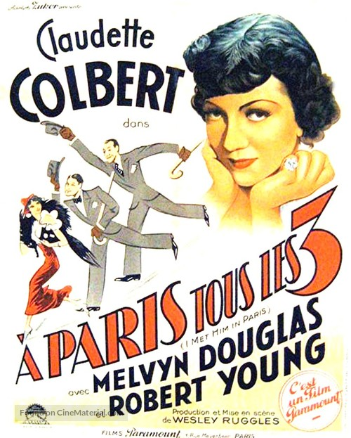 I Met Him in Paris - French Movie Poster