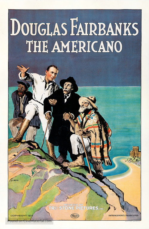 The Americano - Movie Poster