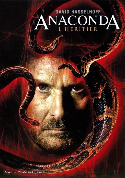 Anaconda III - French DVD movie cover