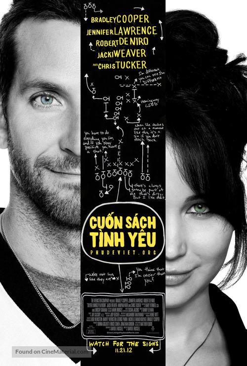 Silver Linings Playbook - Vietnamese Movie Poster