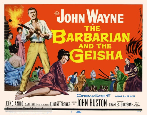 The Barbarian and the Geisha - Movie Poster