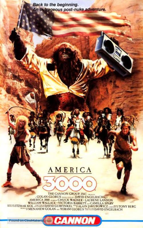 America 3000 - VHS movie cover