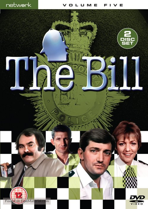 The Bill - British DVD movie cover