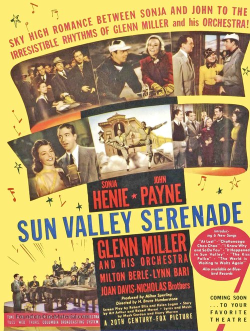 Sun Valley Serenade - Movie Poster