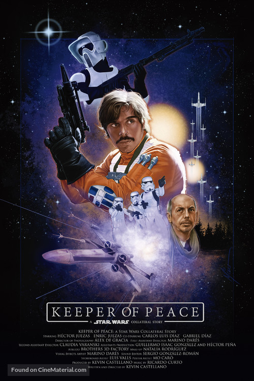 Keeper of Peace: A Star Wars Collateral Story - Spanish Movie Poster