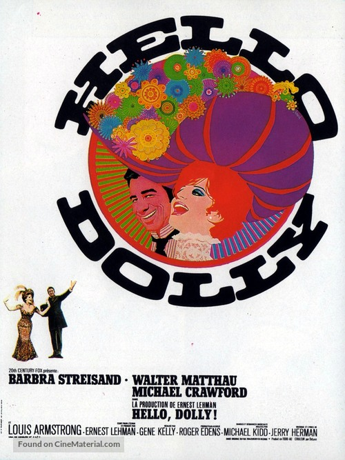 Hello, Dolly! - French Movie Poster