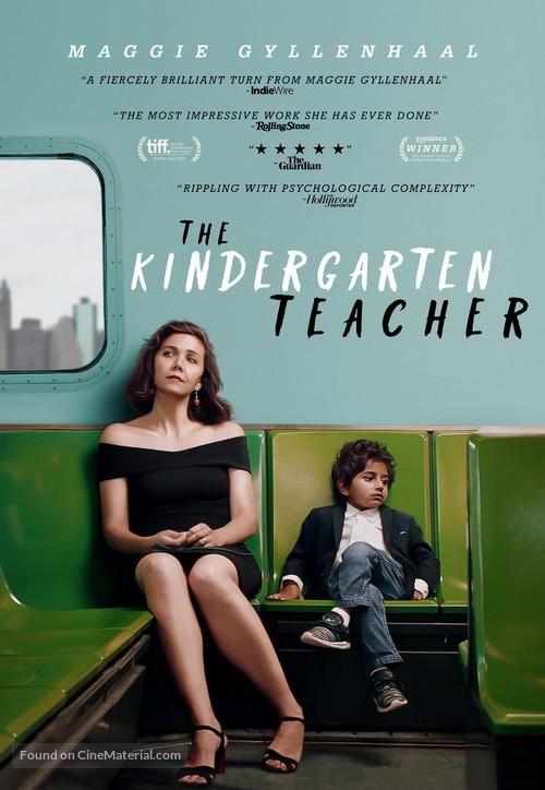 The Kindergarten Teacher - Video on demand movie cover