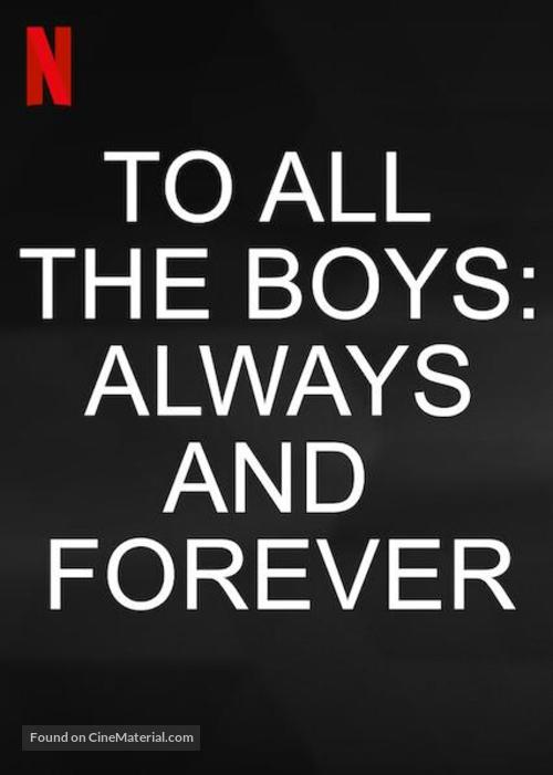 To All the Boys: Always and Forever - Video on demand movie cover