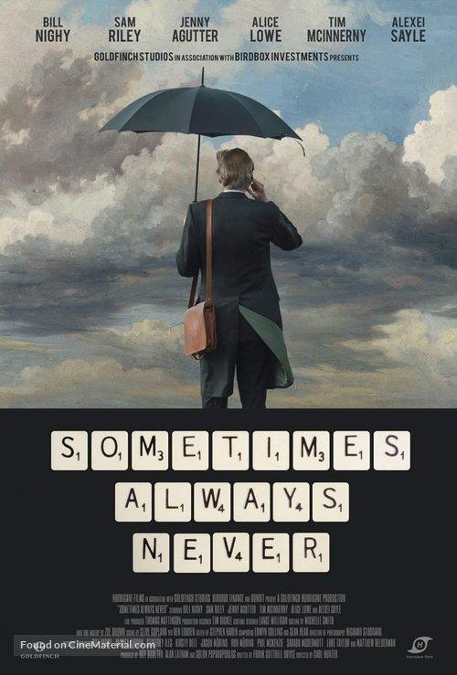 Sometimes Always Never - British Movie Poster