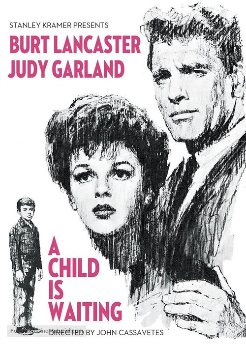 A Child Is Waiting - DVD movie cover